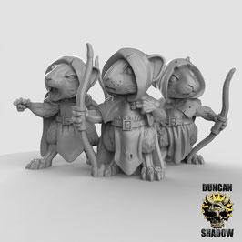 Maus Bogenschützen