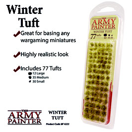 Army Painter Winter Tuft Basing Material
