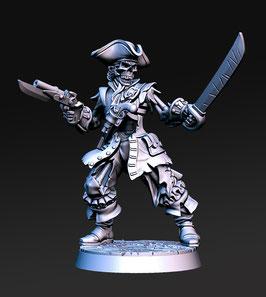Billy the Bone verfluchter Pirat
