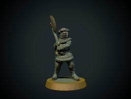 Brite Minis Ritter zu Fuß mit Zweihandaxt