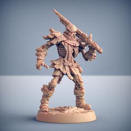 Skelettkrieger mit Einhandschwert