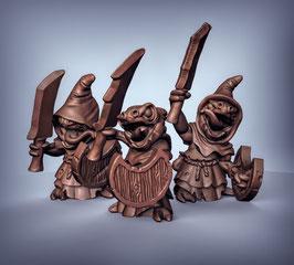 Kobold Schwertkämpfer