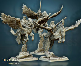 HM: Freie Menschen Pegasus Ritter (3 Modelle)
