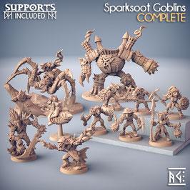 Komplette Goblin Bande