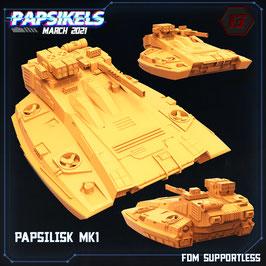 Papsilisk MK1 Hover Panzer