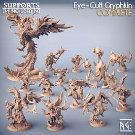 Komplettes Greifen Nest (13 Miniaturen)