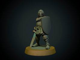 Brite Minis Ritter zu Fuß mit Stoßschwert