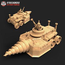 KM Zwerge Stollenpanzer