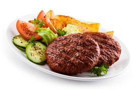 Bison Burger Faschierte Laibchen