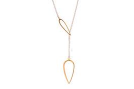 Leaf Necklace - lange Blätterkette