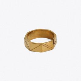 Edges - achteckiger Ring