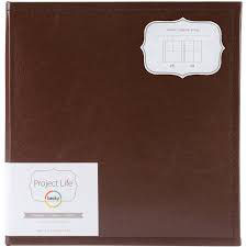 Becky Higgins / American Crafts - Project Life - Faux Leather Album 6x8 {cinnamon } 15.2x20.3cm