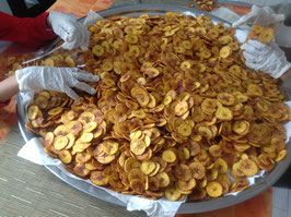 Bananenchips (salz)