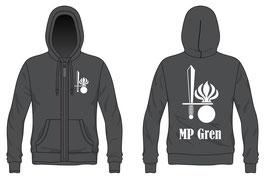 MP Gren Sweatshirt mit Reissverschluss