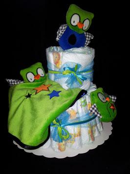 Le gâteau de couches HIBOUX