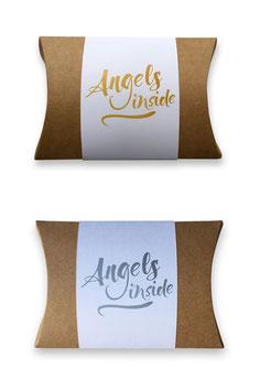 Engelfamilie in Geschenkverpackung