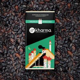 Kharma Kamelmilch Schokolade Vollmilch