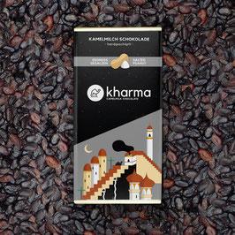 Kharma Kamelmilchschokolade Erdnuss gesalzen