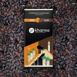 Kharma Kamelmilch Schokolade Mandel Orange