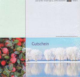 Gutschein Motiv 12; Klappkarte; 25 St.
