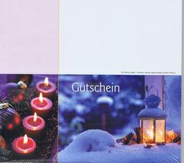 Gutschein Motiv 14; Klappkarte; 25 St.