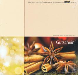 Gutschein Motiv 13; Klappkarte; 25 St.