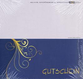 Gutschein Motiv 10; Klappkarte; 25 St.