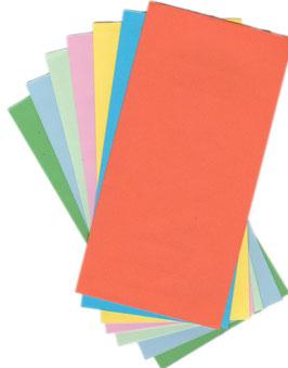 Briefumschläge, farblich sortiert, 20 St.