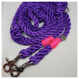 """Leash """"Purple Line"""" adjustable"""