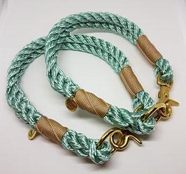 "Halsband Classic ""Sea Green"" 2-fach gelegt"
