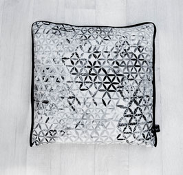 Pillow Flower of Life Black&White