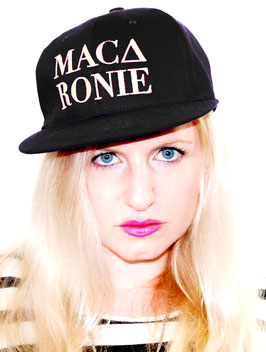 Snapback Cap Macaronie Black