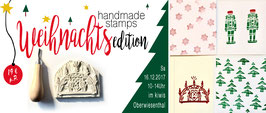 WORKSHOP Handmade Stamps ***Weihnachtedition***