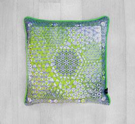 Pillow Manipura Colorful Lemongreen