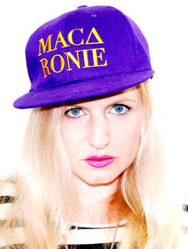 Snapback Cap Macaronie Purple