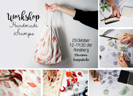 WORKSHOP Handmade Stamps