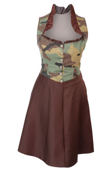 Dirndl in Camouflage-Design