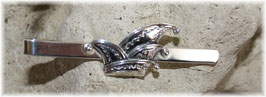 Narrenkappe Krawattenschieber Silber 925