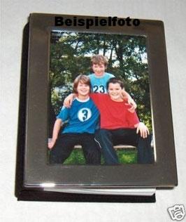 Fotoalbum, Rahmen 2 cm breit, versilbert