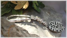 Gute Fahrt Schlüsselanhänger Silber 925