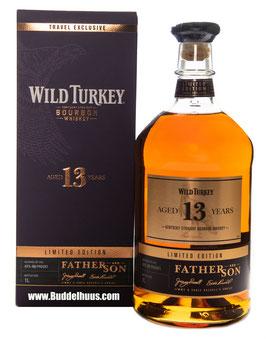 Wild Turkey 13 yo Father & Son