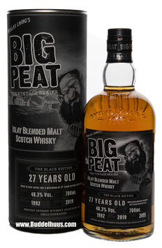 Big Peat 27 yo Black Edition