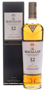 The MacAllan 12 yo Sherry Cask