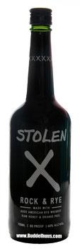 Stolen X Rock & Rye