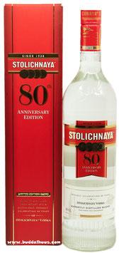 Stolichnaya 80th Anniversary Edition