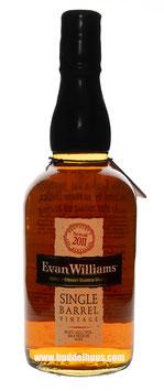 Evan Williams Single Barrel Vintage 2011