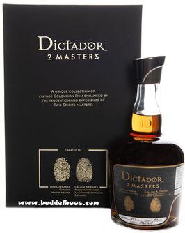 Dictador Two Masters Glenfarclas 1972