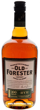 Old Forester Straight Rye