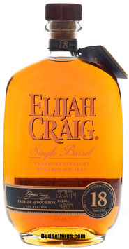 Elijah Craig 18 yo Single Barrel