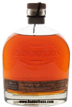 Redemption Rye 10 yo Barrel Proof